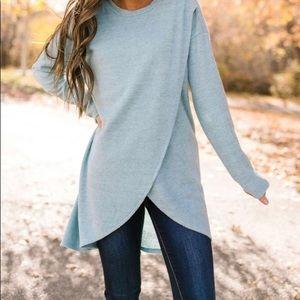 NWOT Tulip Hem Sweater